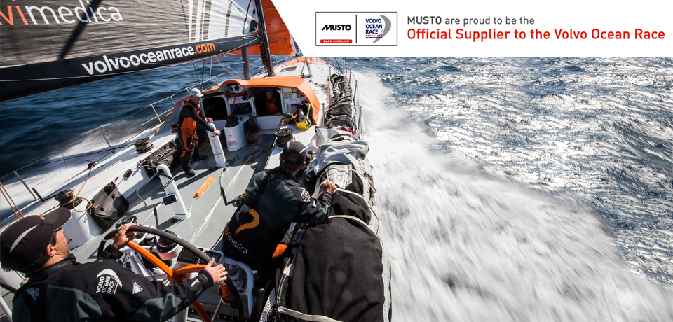 Musto is proud to be the official race supplier to the Volvo Ocean Race and Team Alvimedica