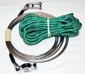 Halyard, C420, Jib Wire with Tail