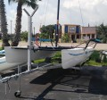 McClain Catamaran Trailer